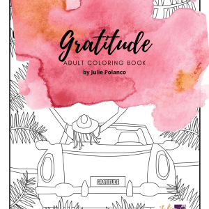 Gratitude Adult Coloring Book PRINT