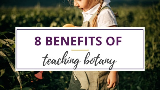 why is botany important to a little girl watering plants