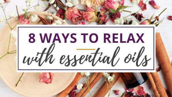 dried flowers and essential oils for relaxation