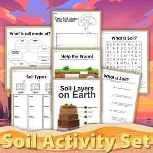 Soil Study Printable Activities