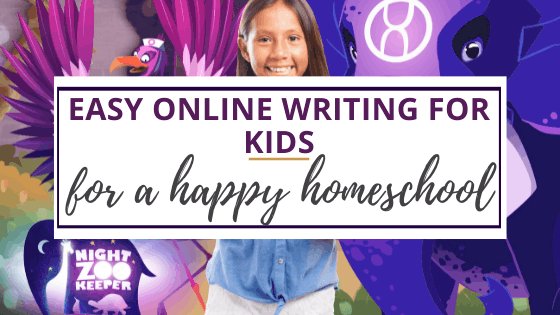 online writing program for kids from night zookeeper