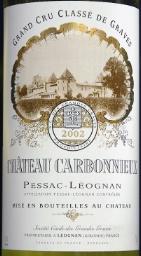 Château Carbonnieux 2002