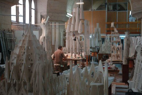 Atelier des maquettistes - Sagrada Familia