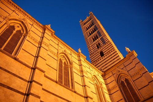 Duomo de Siena, en soirée