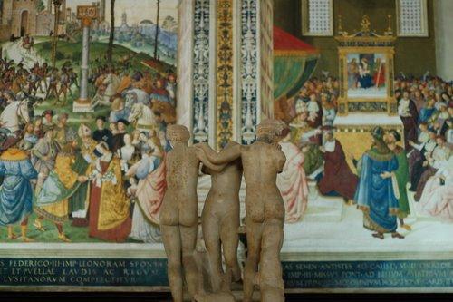 Bibliothèque du Duomo de Siena