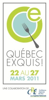 Québec Exquis, du 22 au 27 mars 2011