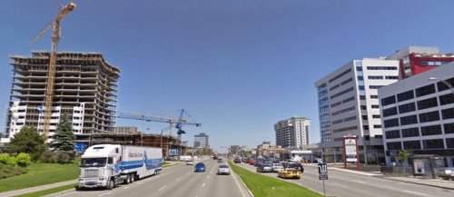 Boulevard Laurier, Google StreetView