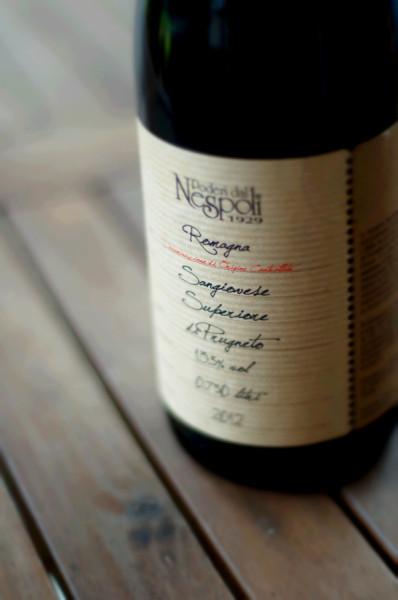Sangiovese di Romagna de Poderi dal Nespoli