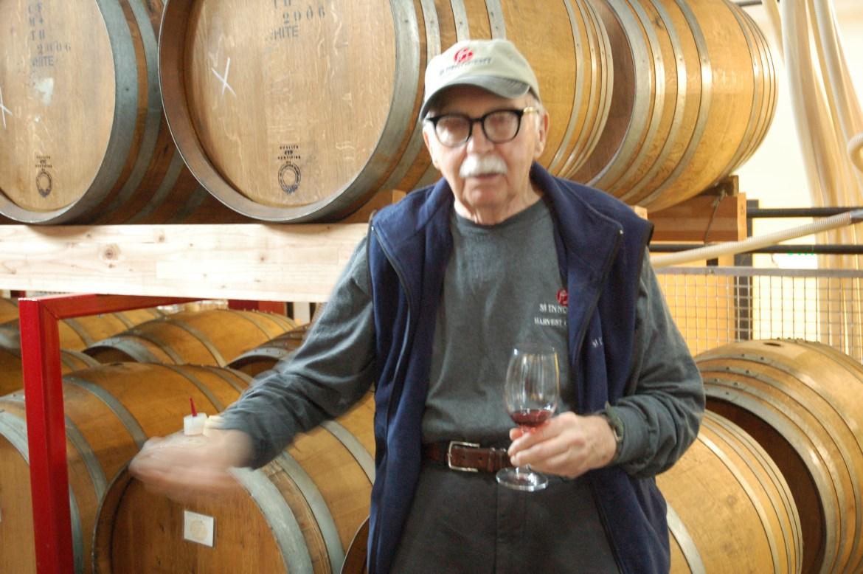John Innocent Vlossak en 2011 (Ma photo n'est pas super pour manque de lumière, désolé M. Vlossak)