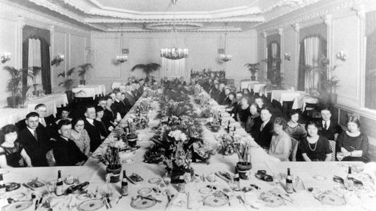 Merchants Bank - Employee Dinner Party -- 20th Anniversary of Bank - Allentown PA (Photo: Wikimedia)