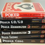 Ma collection de livre sur le Poker