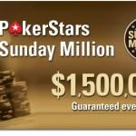 Mon premier Sunday Million