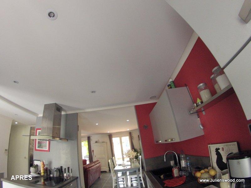 r novation plafonds fissur s. Black Bedroom Furniture Sets. Home Design Ideas
