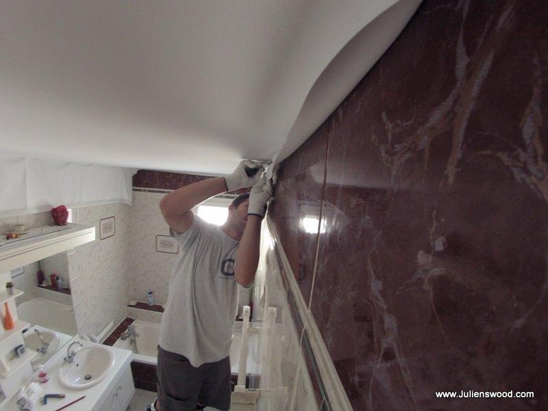 renover plafond salle de bain. quand. prix plafond tendu rouen ... - Renover Plafond Salle De Bain