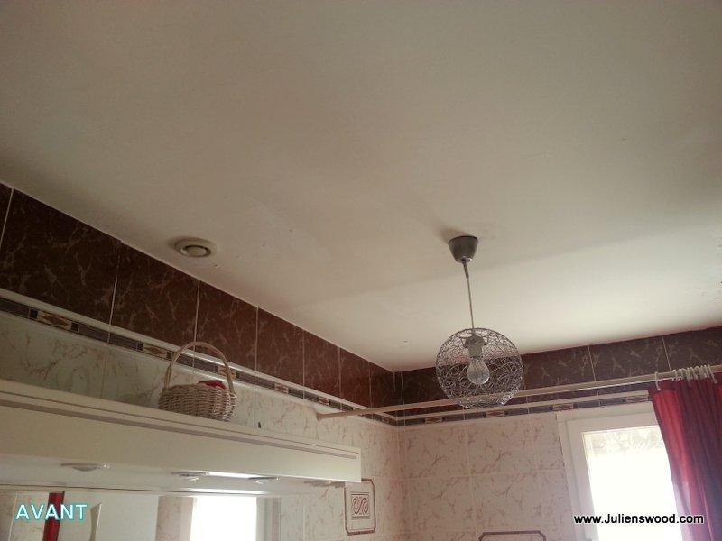 renover plafond salle de bain. faux plafond bois salle de bain ... - Renover Plafond Salle De Bain