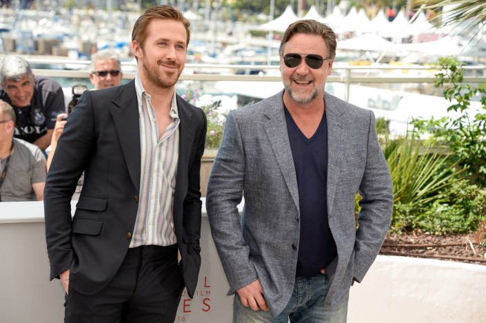 Ryan Gosling & Russell Crowe