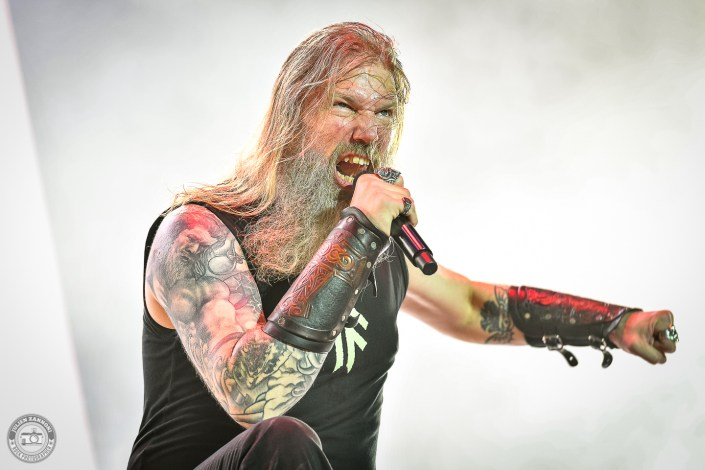 Amon Amarth sur la scène du Hellfest Open Air 2019 à Clisson (France)