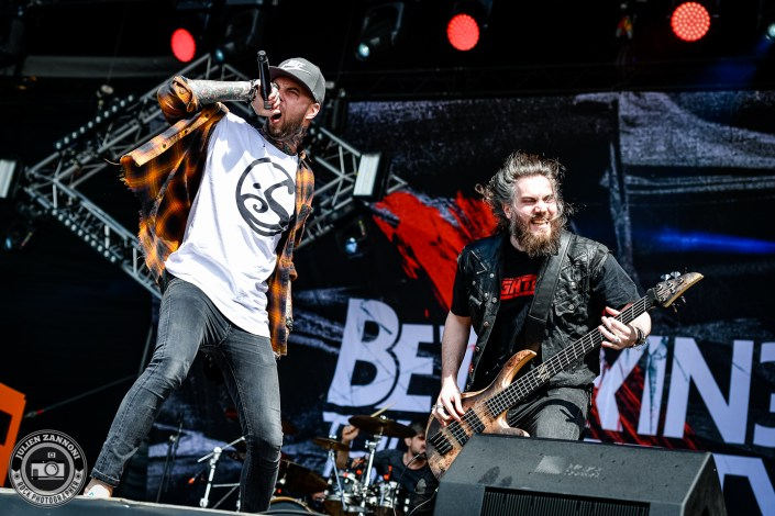 Betraying the Martyrs plays at the Download Festival Paris - 2018