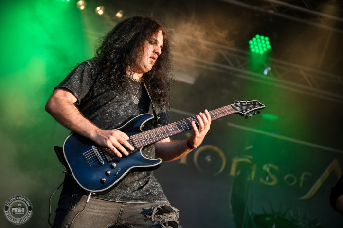 Vision of Atlantis is seen on stage during Wacken Open Air 2018 (Germany)