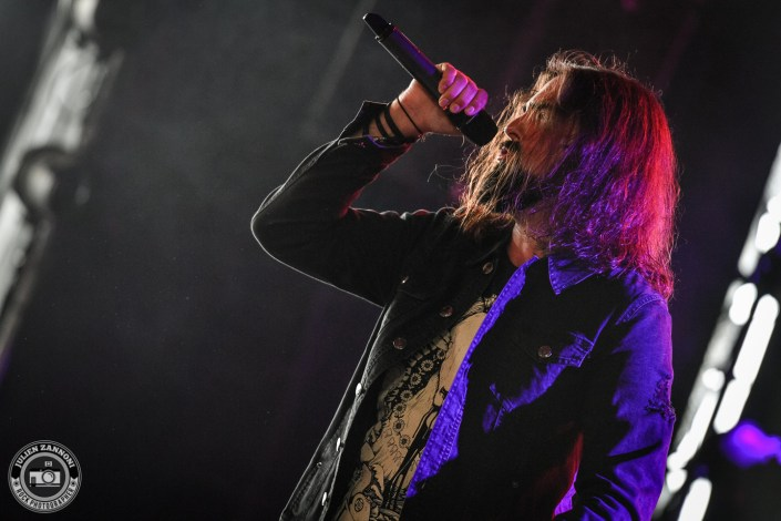 Voice of Ruin is seen on stage during Rock Altitude Festival 2018 (Switzerland)