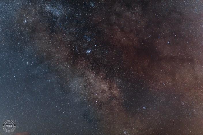 Voie Lactée au dessus du Mont Blanc