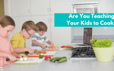 Kids Cook Real Food eCourse: My Honest Review  Interested in kids' cooking classes? Learn about the Kids Cook Real Food eCourse and if it's for you.