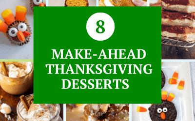 8 Make-Ahead Thanksgiving Desserts That Aren't Pumpkin Pie