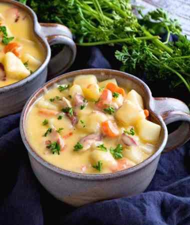 Cheesy Bacon Potato Soup Recipe