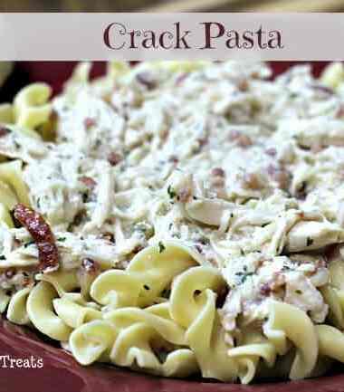Crack {Chicken, Bacon, Ranch} Pasta