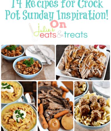 14 Recipes for Crock Pot Sunday Inspiration!