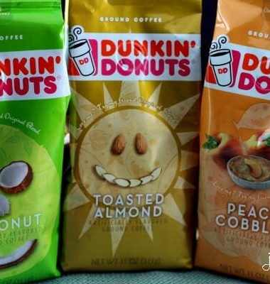 Dunkin' Donuts Spring Flavors!