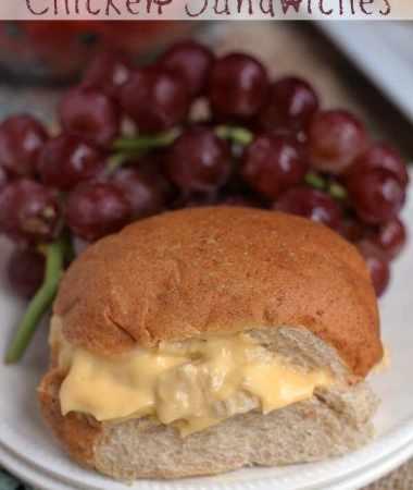 Easy Cheesy Chicken Sandwiches