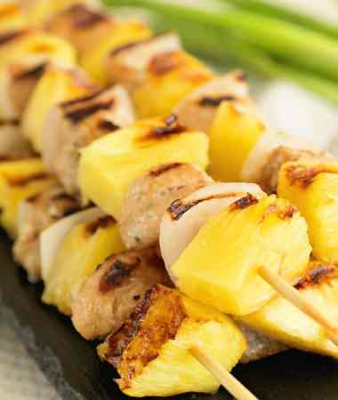 Chicken Pineapple Kebabs