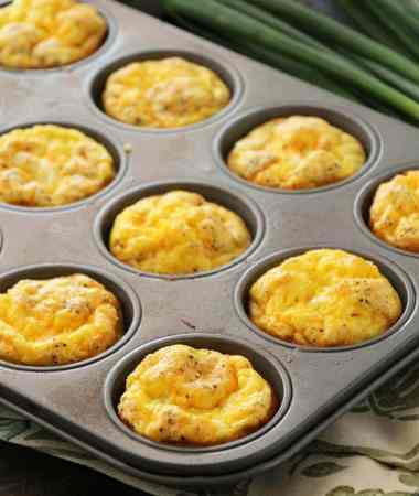 Ham & Cheese Egg Muffins + VIDEO