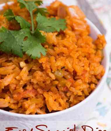 Easy Spanish Rice & Southwest Tortilla Chicken
