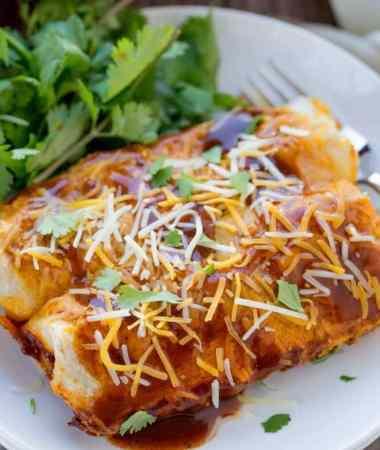 Beef and Potato Enchiladas Recipe