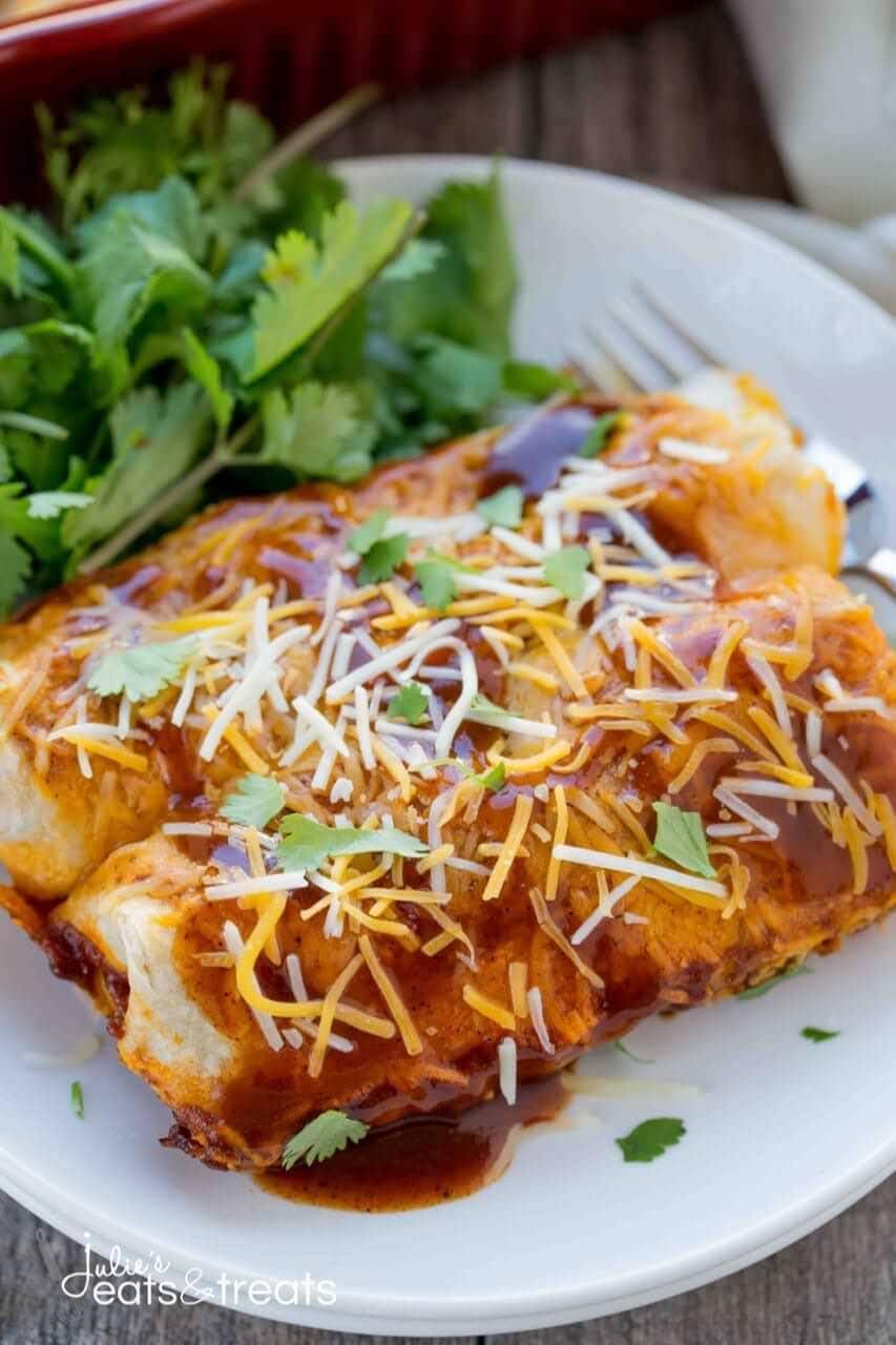how to use corn tortillas for enchiladas