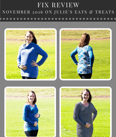 Maternity Stitch Fix Review November 2016