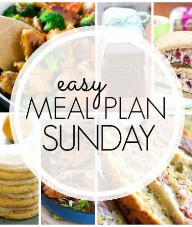 Easy Meal Plan Sunday {Week 91}