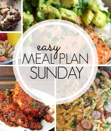 Easy Meal Plan Sunday {Week 96}