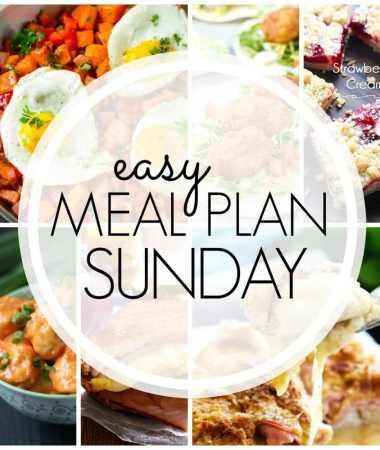 Easy Meal Plan Sunday {Week 94}