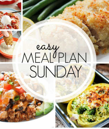 Easy Meal Plan Sunday {Week 98}