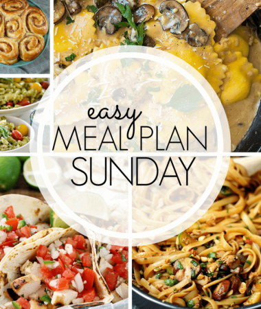 Easy Meal Plan Sunday {Week 97}