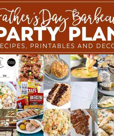 Ultimate Father's Day Barbecue Meal Plan!