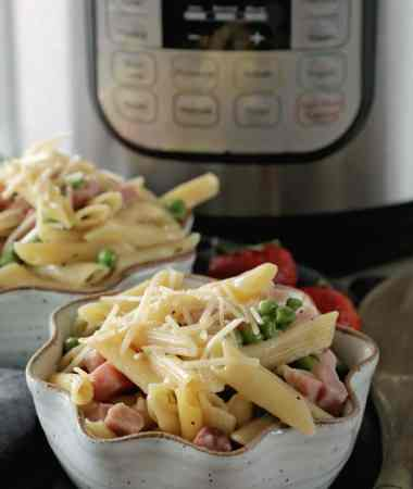 Instant Pot {Pressure Cooker} Ham & Penne Pasta