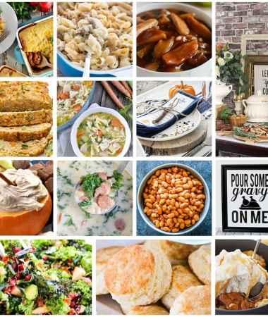 Fall Comfort Food Recipes!