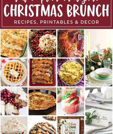 Easy Christmas Brunch Meal Plan
