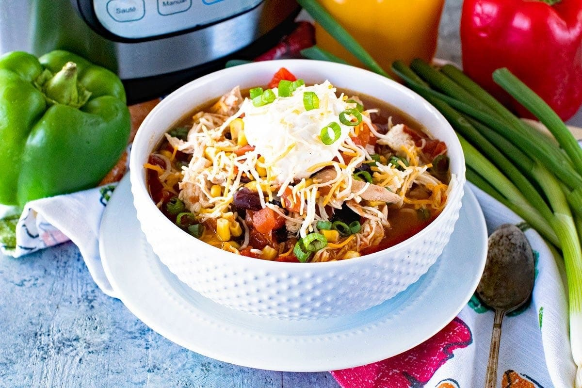 Chicken Taco Soup Bowl