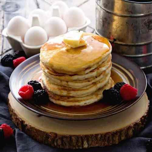 Easy Homemade Pancakes Recipe VIDEO Julies Eats Treats