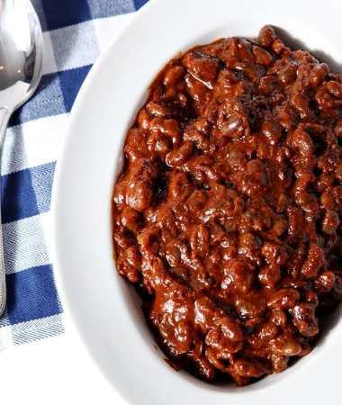 {Pressure Cooker} Instant Pot Baked Beans